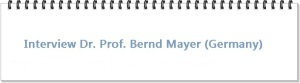 Dr. Prof. Bernd Mayer germany